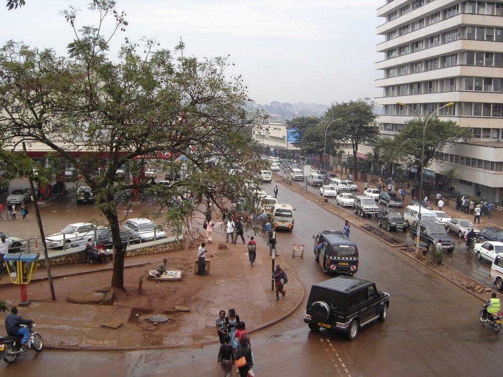 Downtown Kampala, Uganda