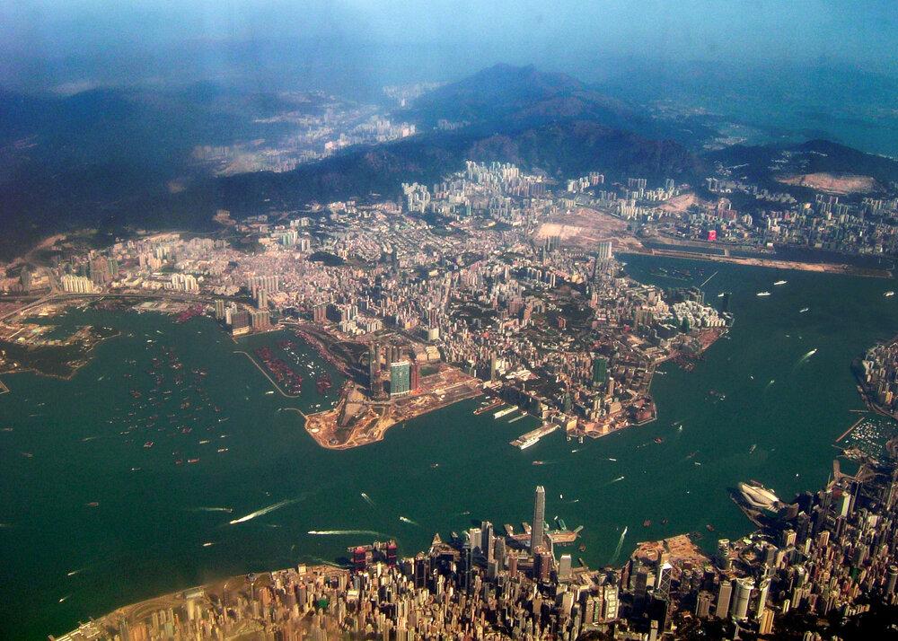 View of Kowloon Peninsula