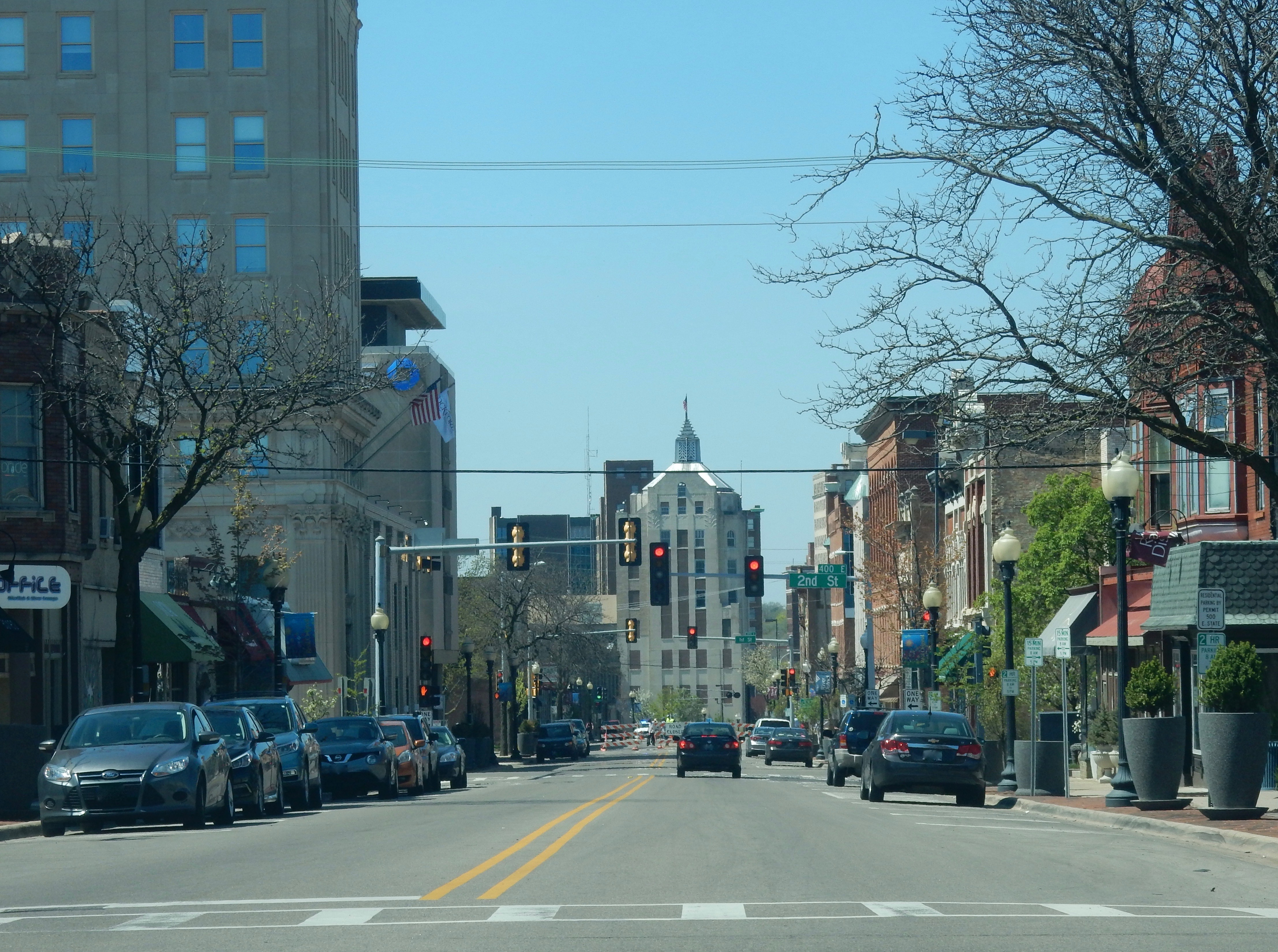 Downtown Rockford, Illinois