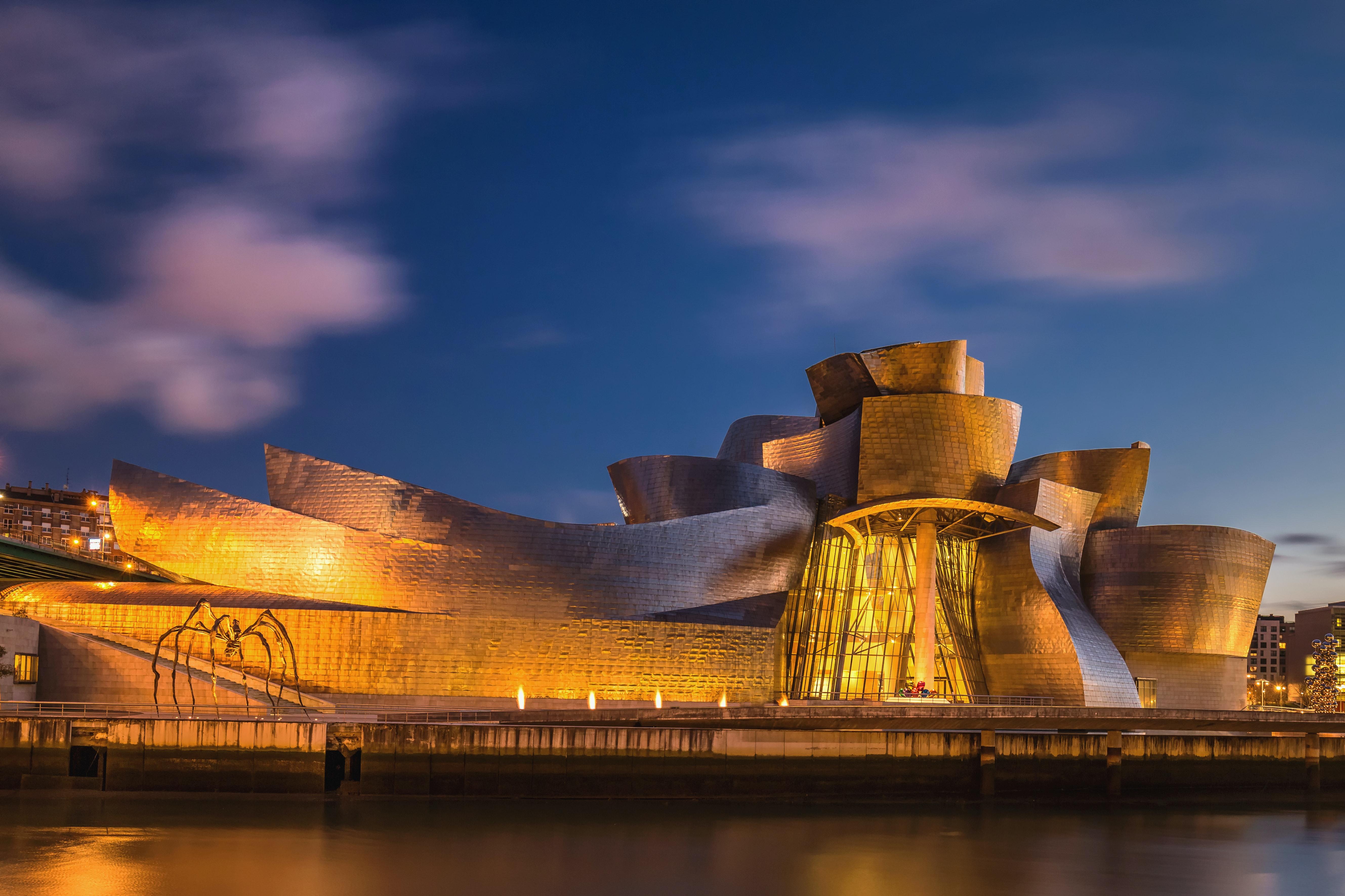Photo of museum in Bilbao