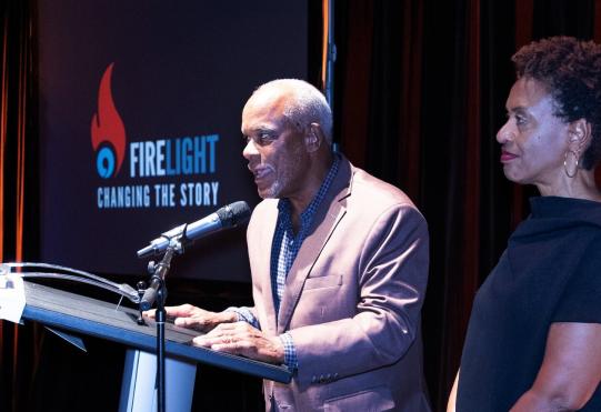 Firelight Media Stanley Nelson speaking image