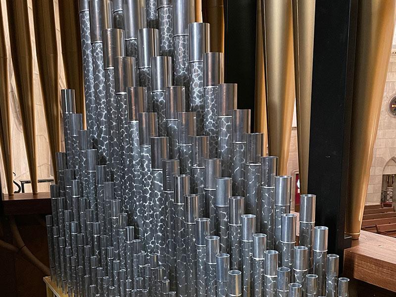 Kegg Pipe Organ - Pipes