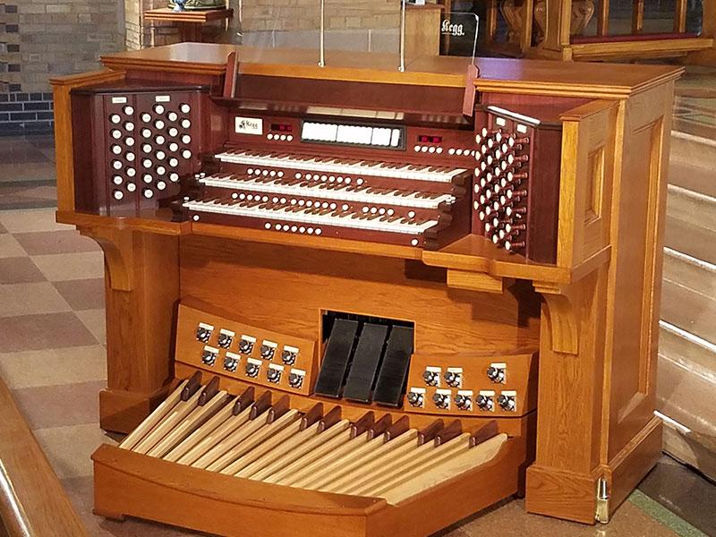 Kegg Pipe Organ Consoles