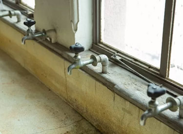 A leaking tap