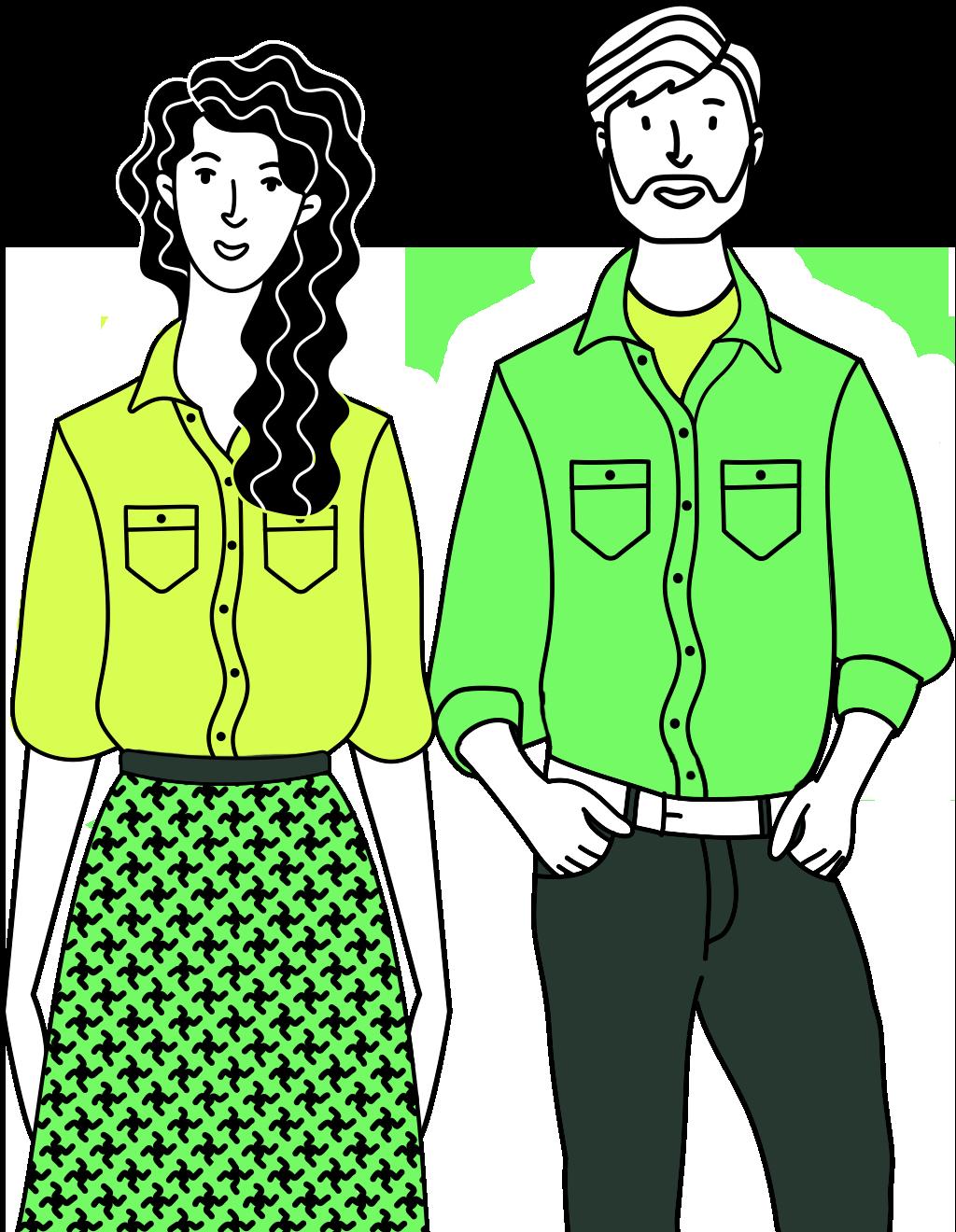 male female couple image