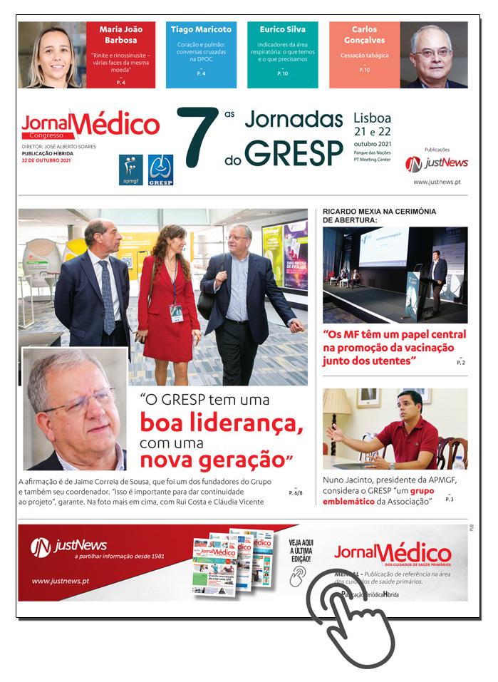 Jornal das 7 Jornadas do GRESP