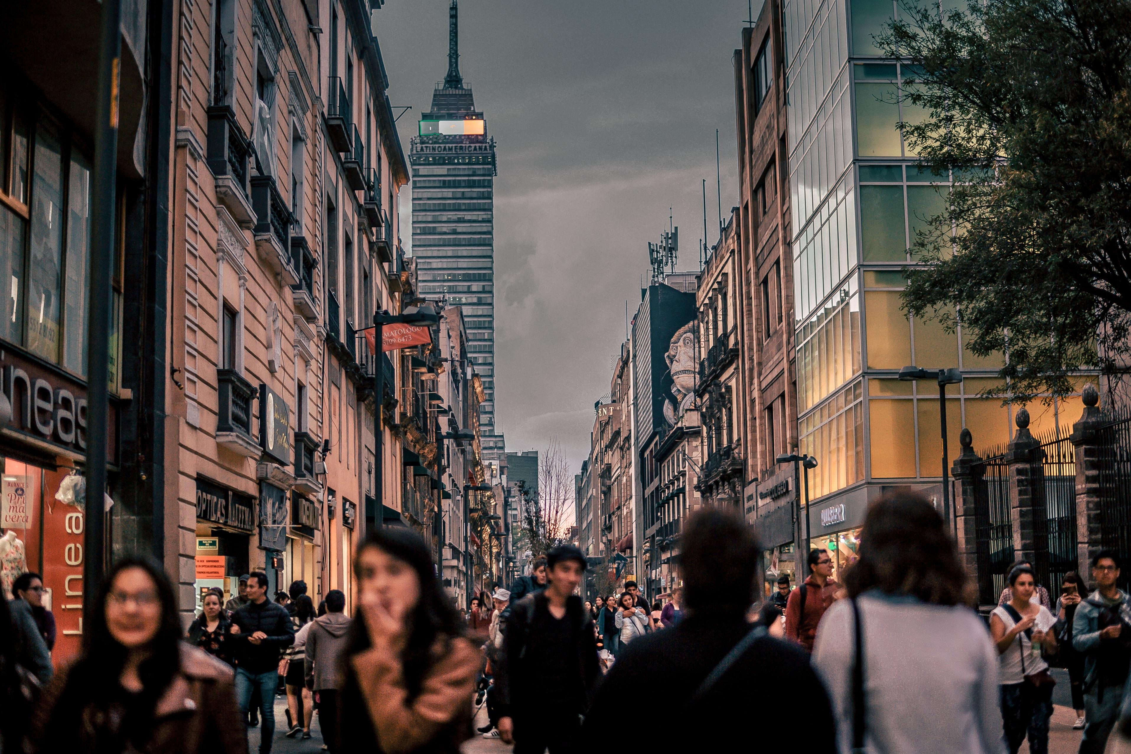 Mexico City, courtesy of Jezael Melgoza @Unsplash