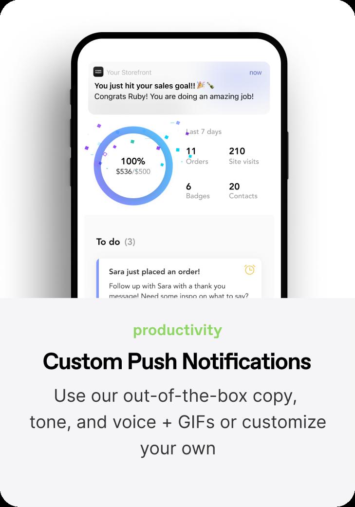 Custom Pushes