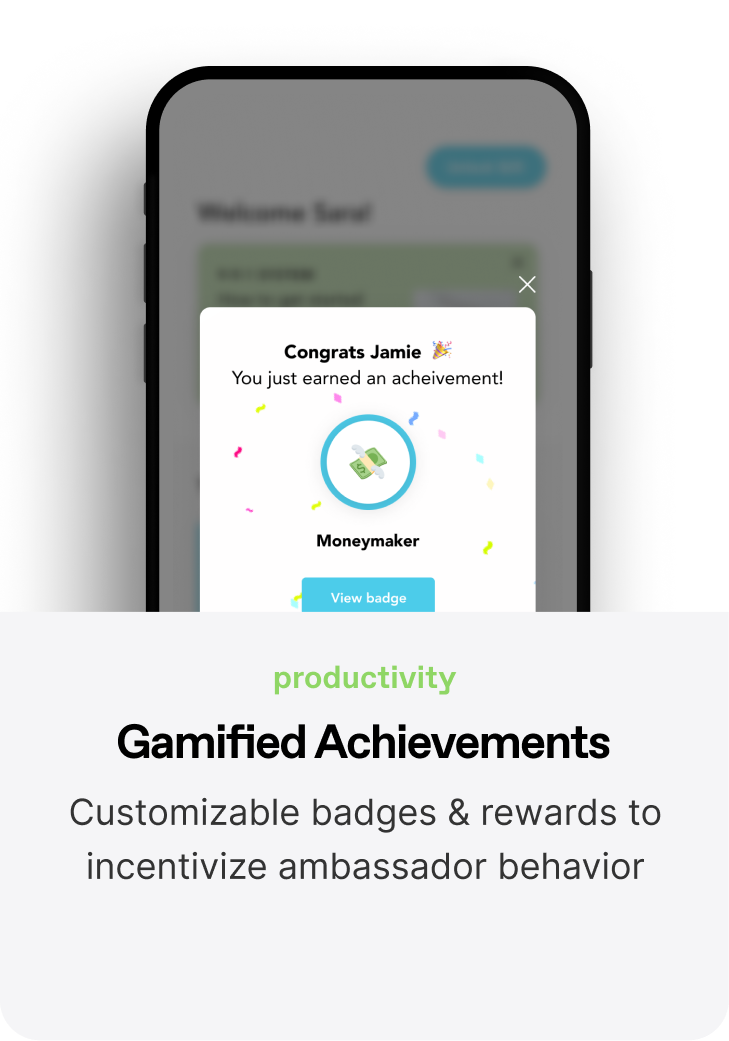 Gamified Achievements