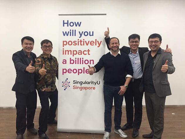 SingularityU Singapore team members