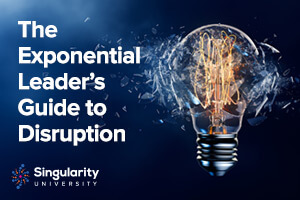 The exponential leader's guide to disruption