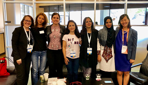 TechWomen at SU