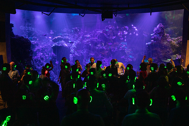 Silent Disco at Global Summit 2019