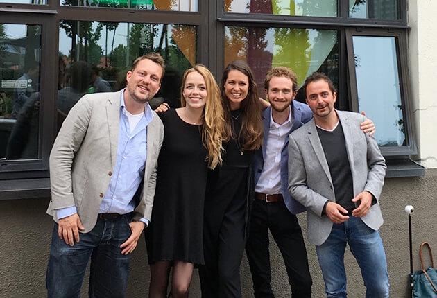 Group photo of SingularityU Amsterdam Chapter members.