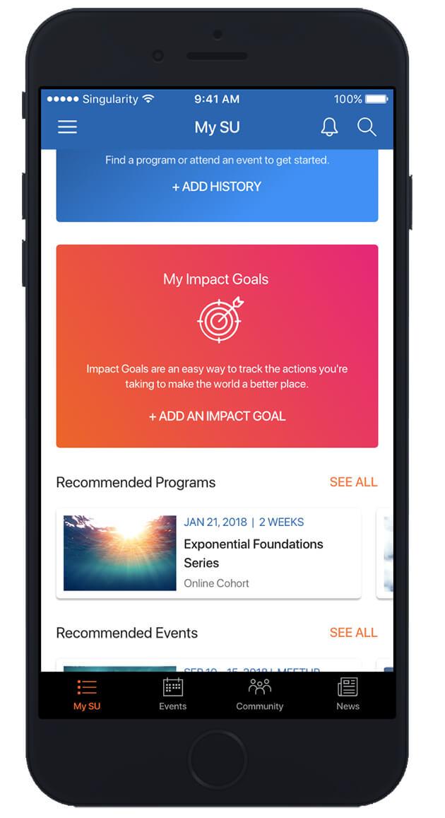 Impact Goals - SU App Preview
