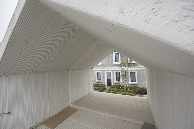 3D printed shelter