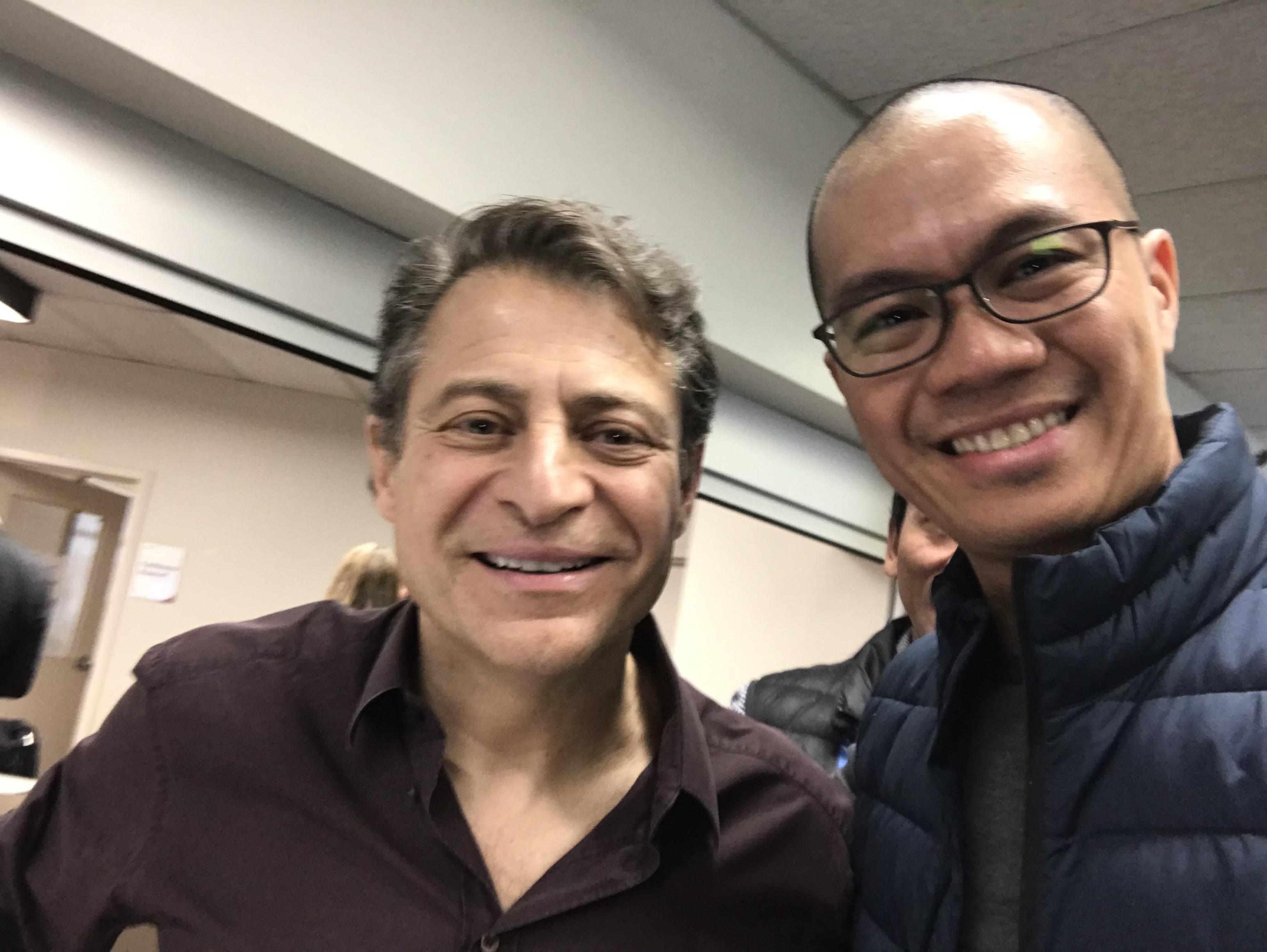 Peter Diamandis and John Aguilar