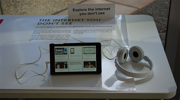 Explore the internet you don't see