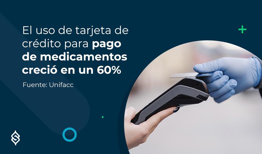 El uso de tarjeta de crédito para pago de medicamentos creció en un 60%