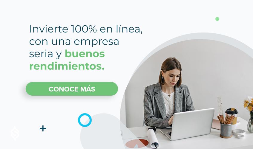 Invierte 100% en línea