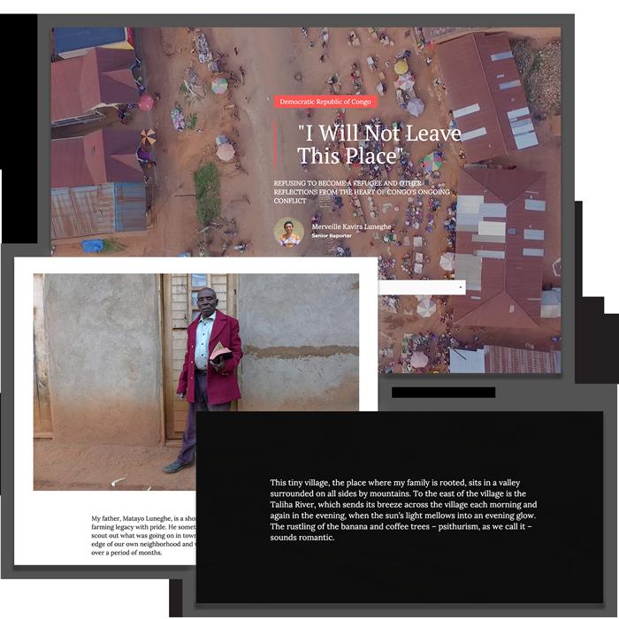 Refugee Reporting Award, Shortlist