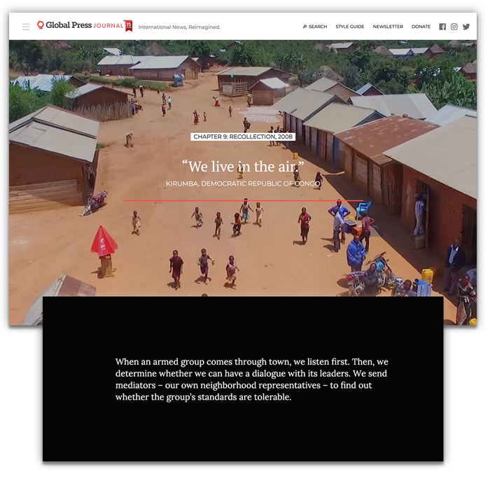 The Clarion Award for Online Journalism – Feature Article