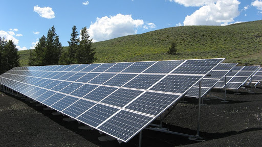 Solar panels for eco-friendly property management