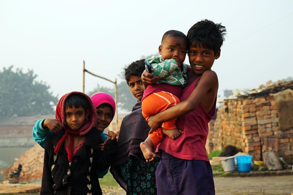 Local Kolkata children.