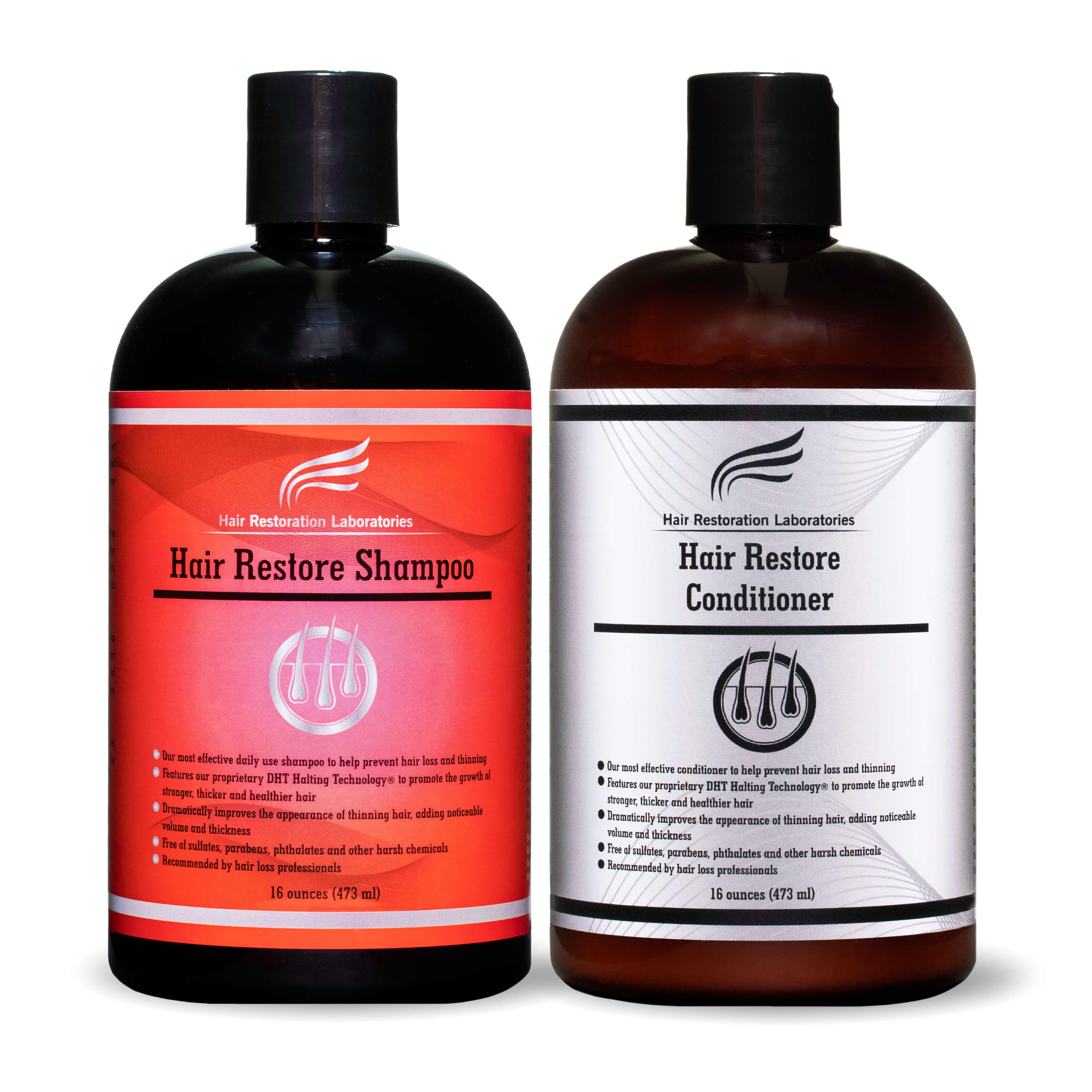 Hair Restore Shampoo and Conditioner Set