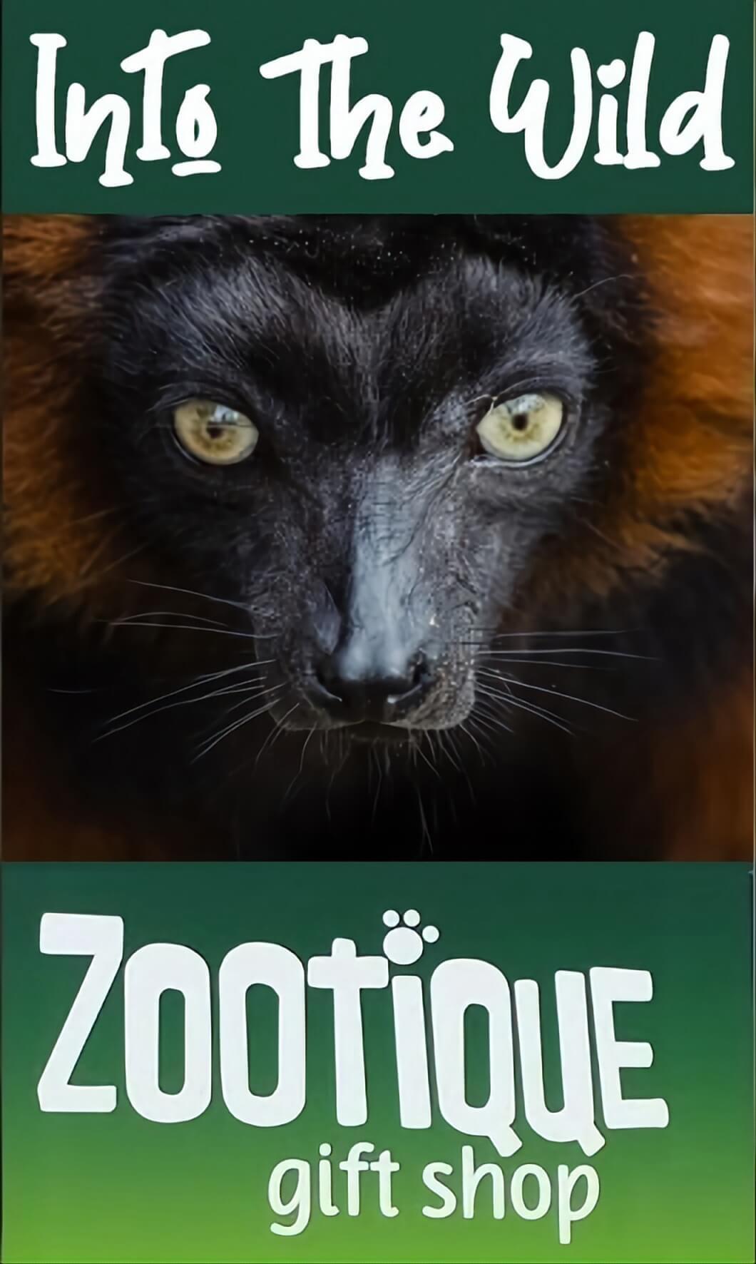 Into the Wild Zootique logo