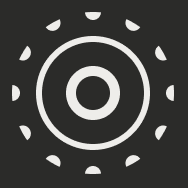 A white live photos icon