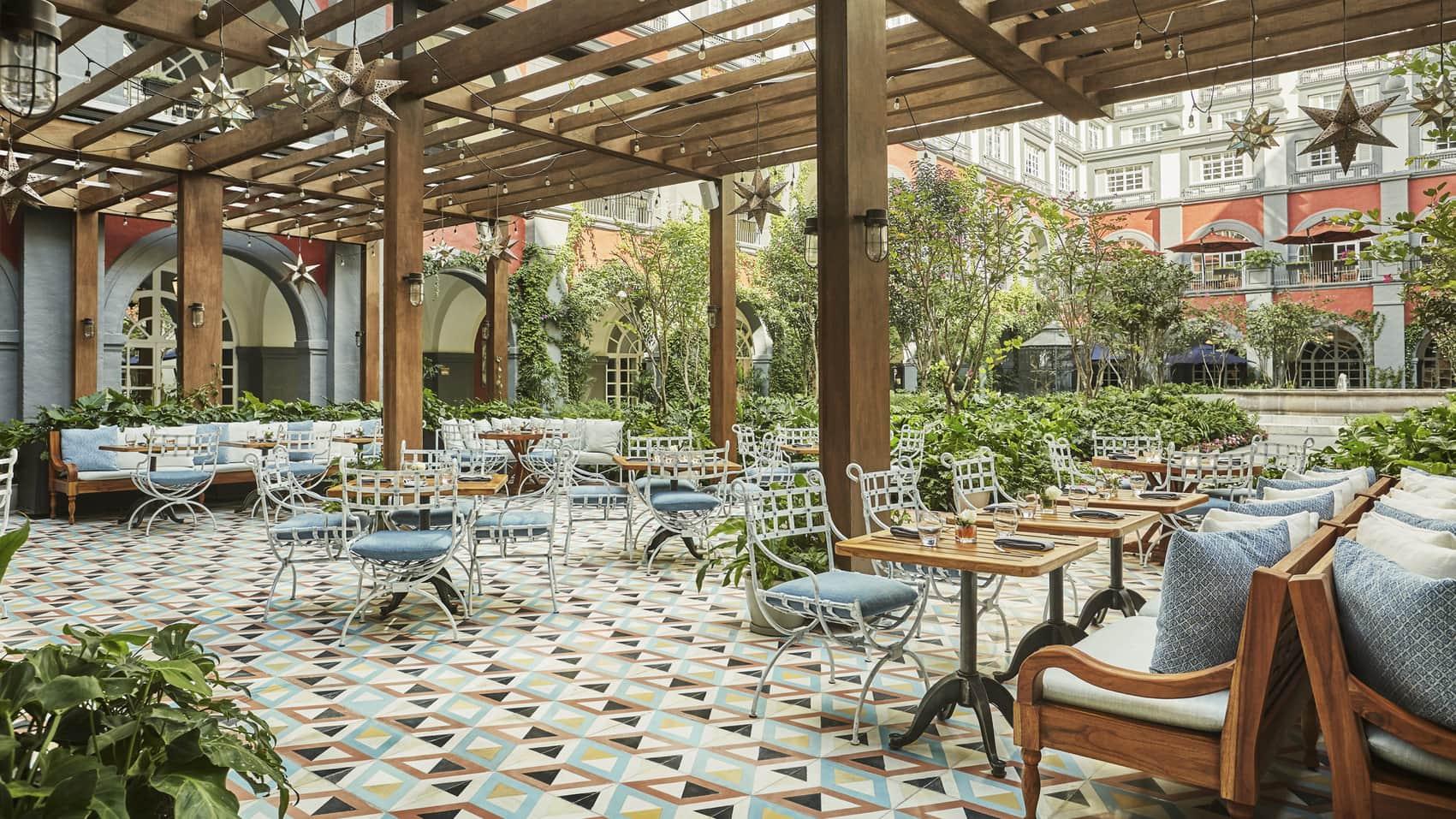The Four Seasons Mexico City, our lavish summit HQ