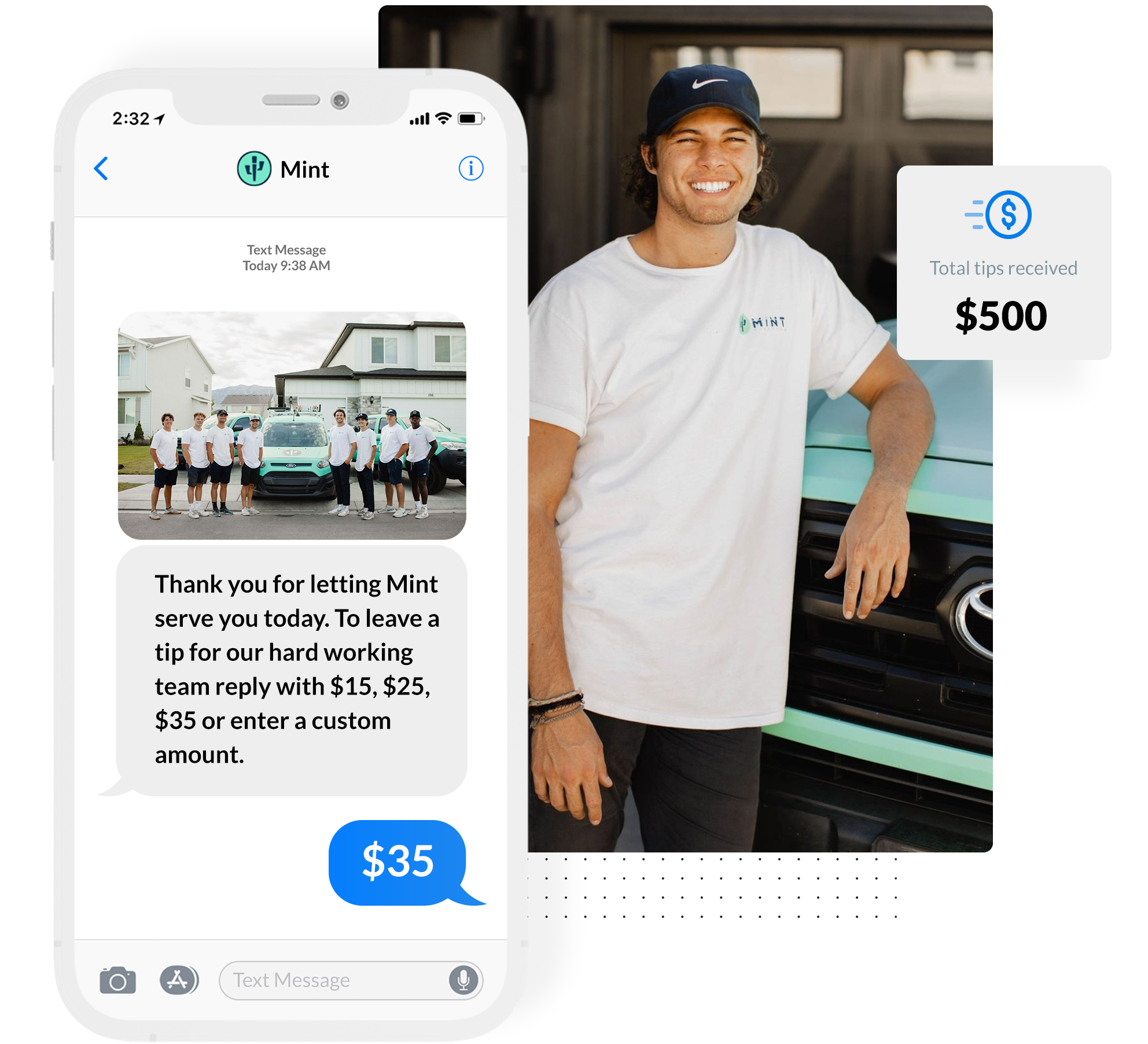 tipping demo