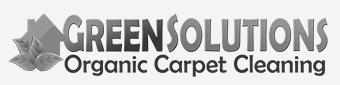 green solutions organic carpet cleaning logo