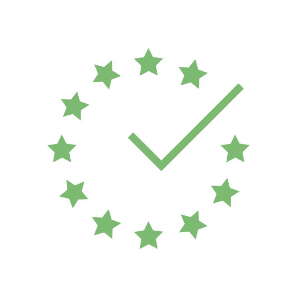 Badge indicating GDPR compliance.