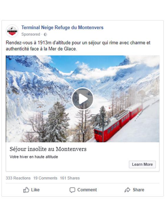 A sample advertisement