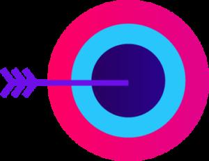 A dart icon