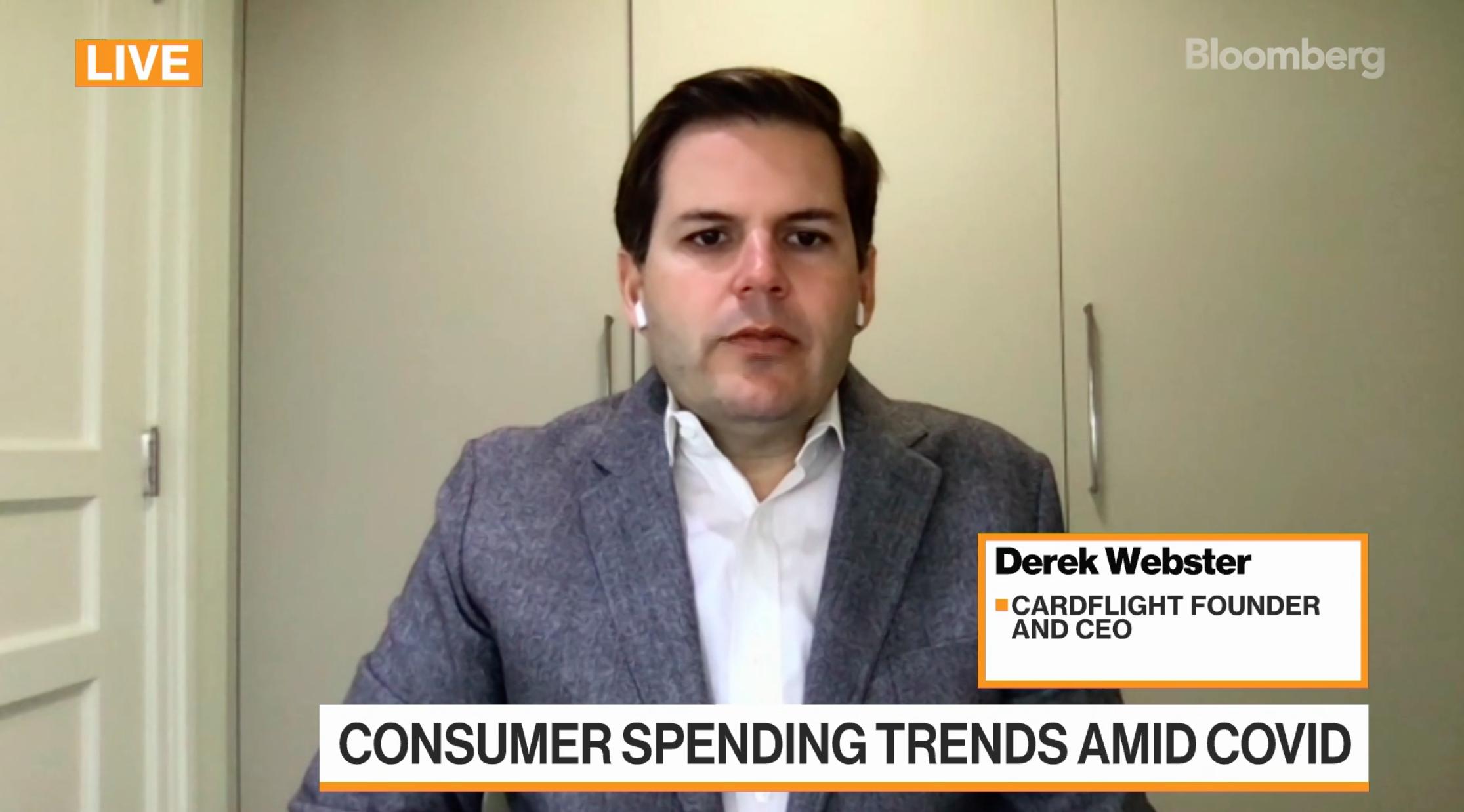 Derek Webster on Bloomberg TV
