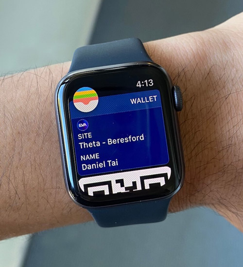 Pass on Apple Watch