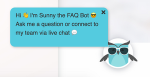 Chatbot livechat callout