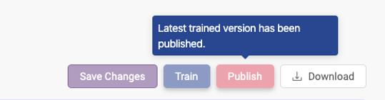 Publish knowledge base