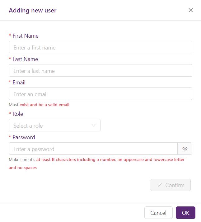 Add new FAQbot user
