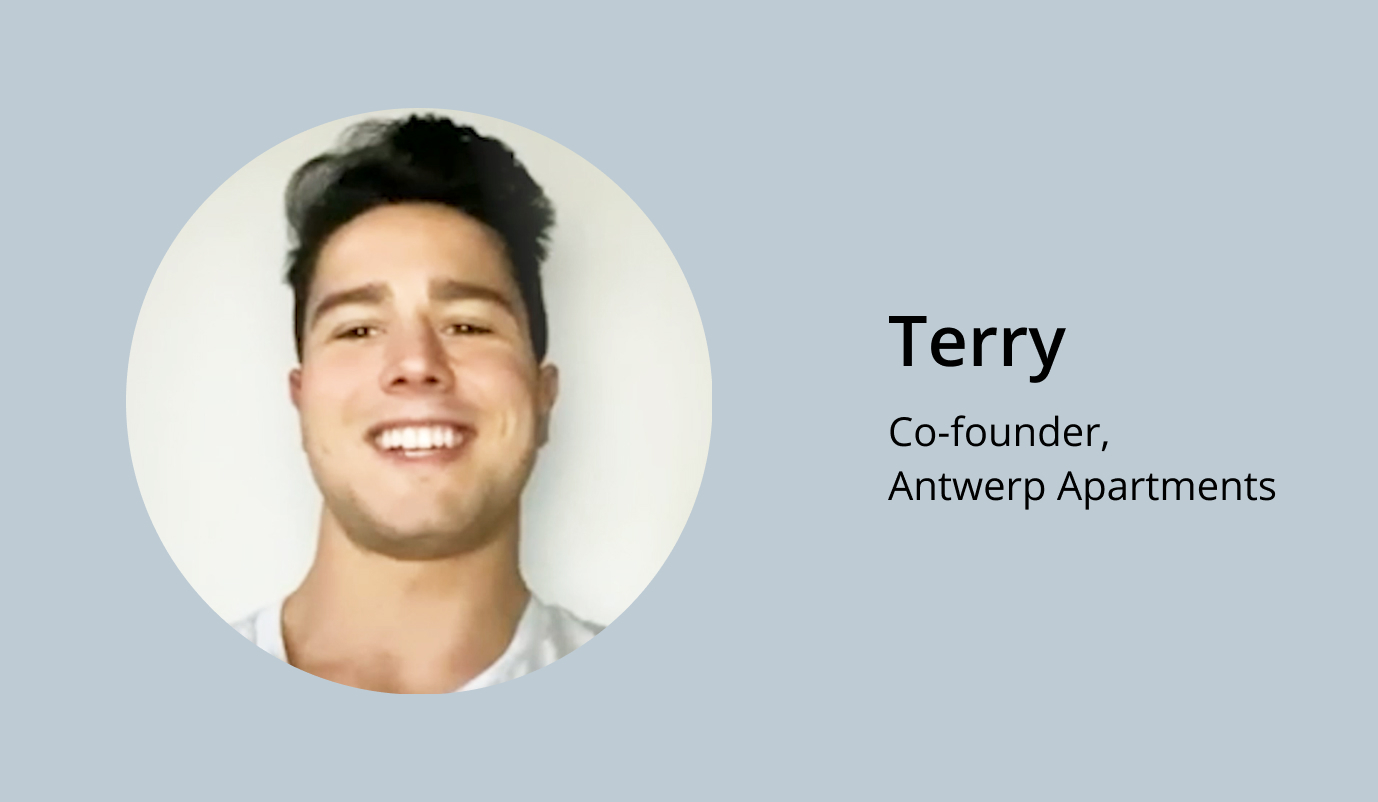 Click to listen to what the Terry, a property manager has tosay about how Minut has helped him