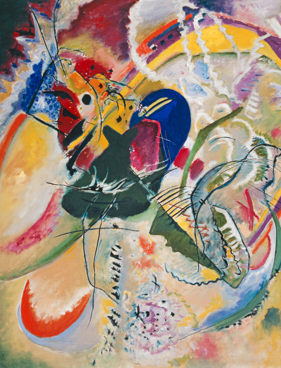 Tableau Kandinsky