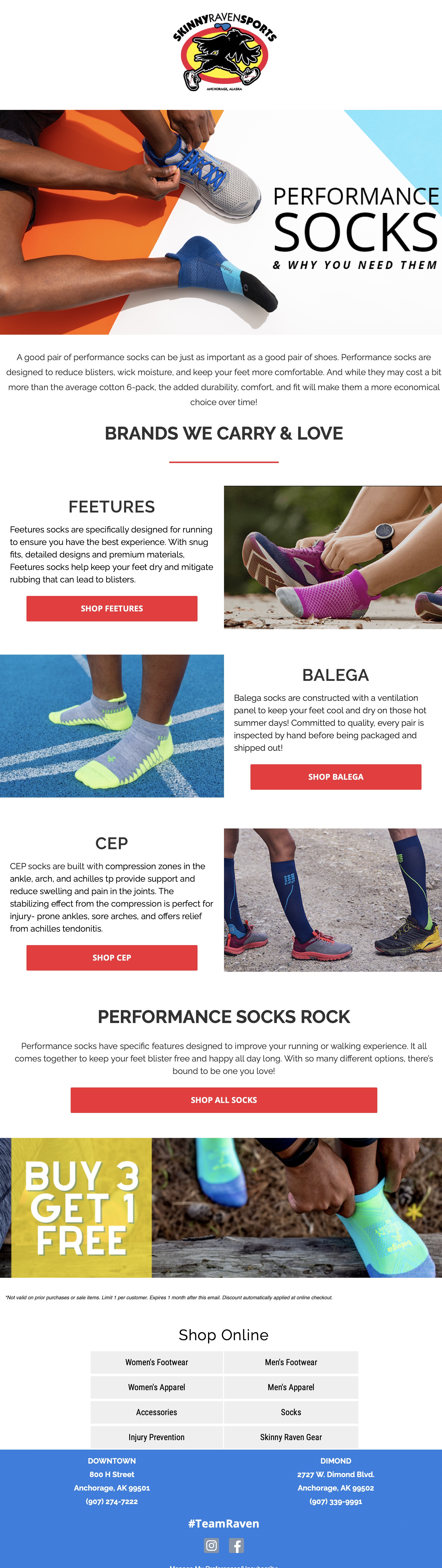 Sock Education - Cross Sale