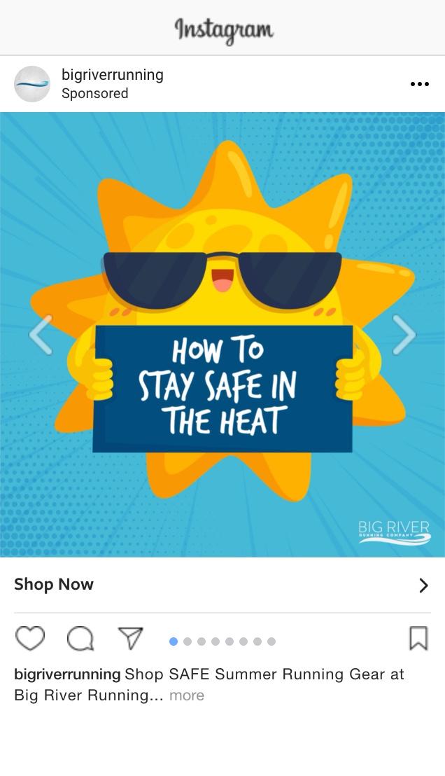 Shop Safe Summer Running