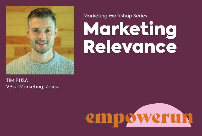 Marketing Relevance
