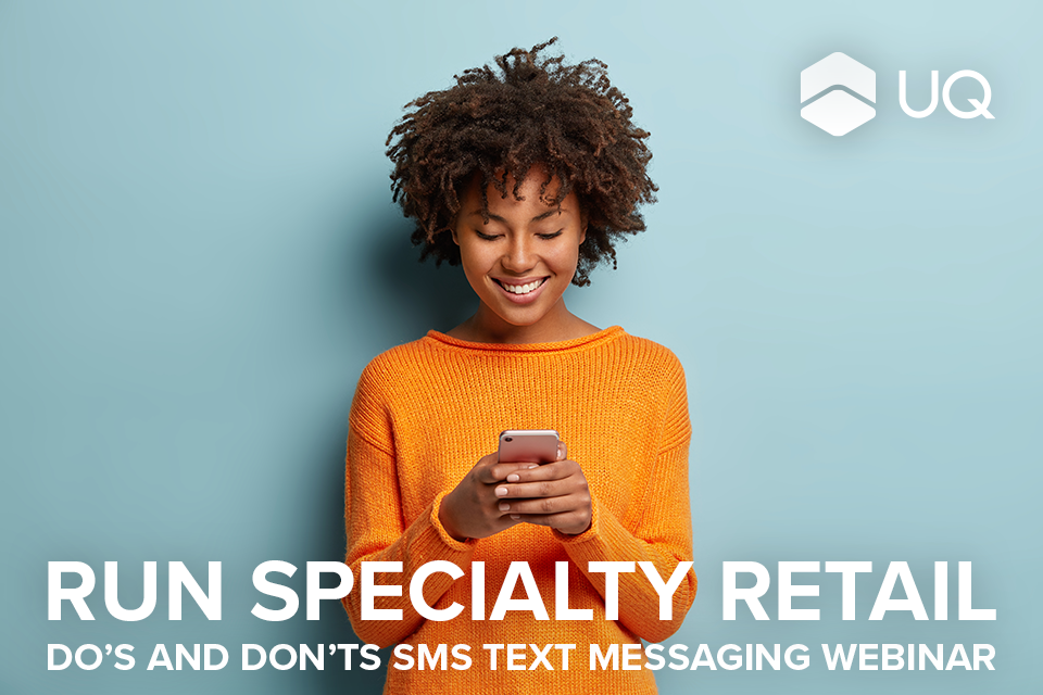 SMS Text Messaging Webinar for Run Specialty Retailers