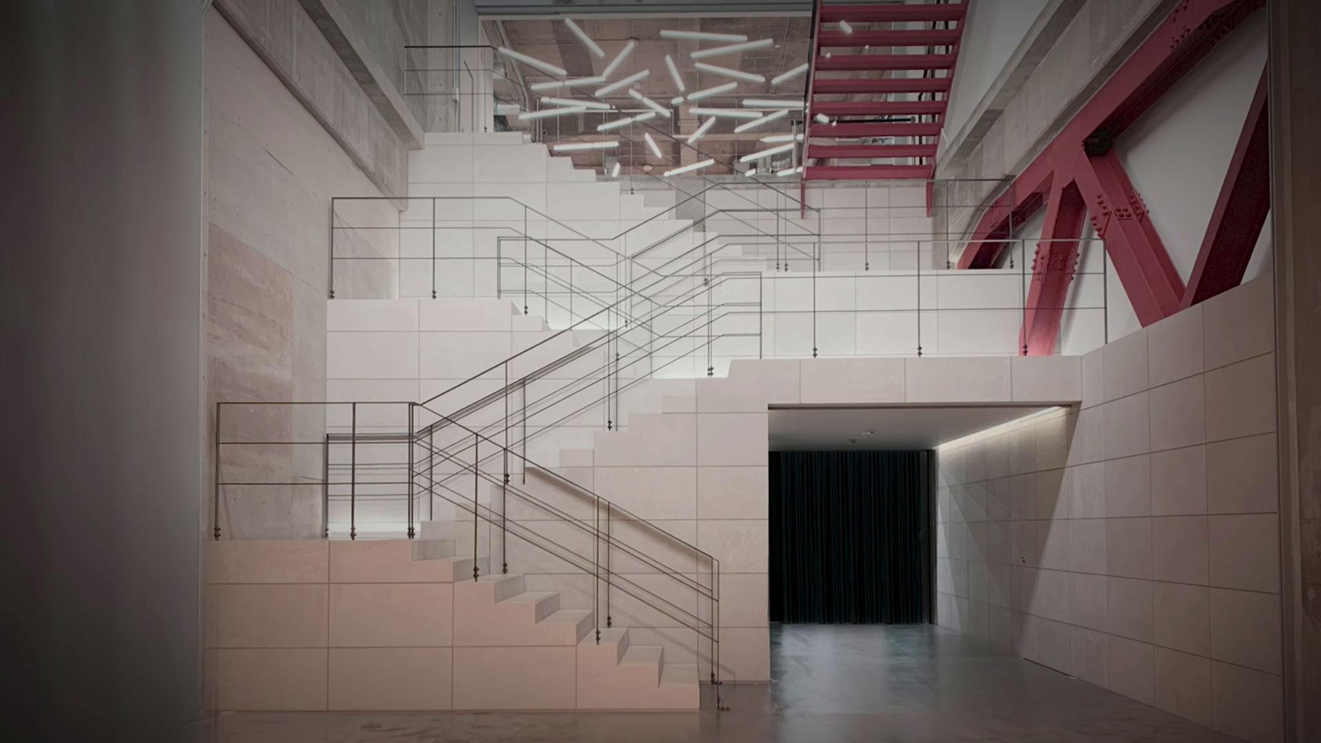 amazon prime 3d projection mapping eventagrate fashion technology touch designer dubai japan projection area