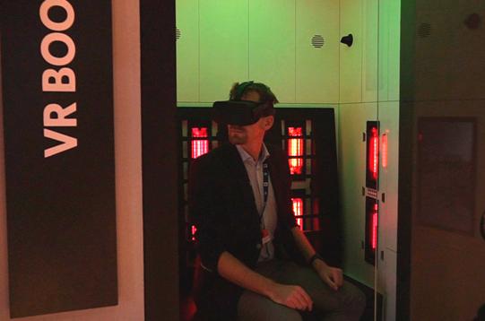 Virtual Reality Booth Sensiks Sensix